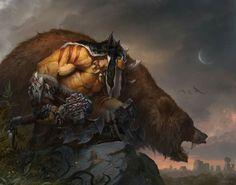 Orco druida Warcraft