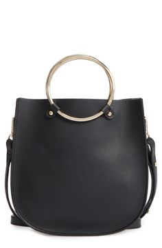 BP. Metal Ring Crossbody Bag