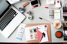 Sulla scrivania