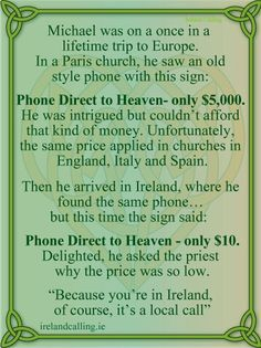 Ireland.... :)