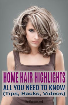 Why do some stylists get excited about highlights? Here's everything you wanted to know about highlighting your hair with golden glints of color. How To Do Highlights, Highlights Around Face, At Home Highlights, Cap Highlights, Colored Highlights, Blonde Highlights, Step By Step Hairstyles, Cute Hairstyles, Bayalage Color