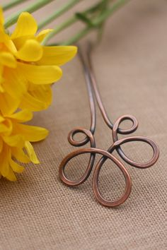 Brass hair clip brass jewelry minimalist accessories hair accessory geometric jewelry silver hair barrette copper hair jewelry for her Flower hair fork yellow brass hair stick silver hair por Kapelika Jewelry For Her, Hair Jewelry, Jewelry Making, Silver Hair, Copper Hair, Gold Hair, Brass Jewelry, Diy Hair Accessories, Crafts
