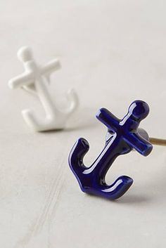 Sea Anchor Knob from Anthro for dresser