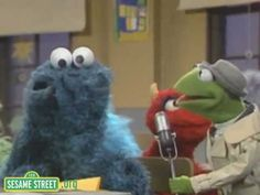 First Day of School Anxiety: Sesame Street: Kermit News - First Day of School with Cookie Monster