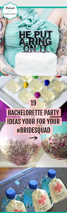 Your bachelorette party will be unforgettable with these easy, unique party ideas