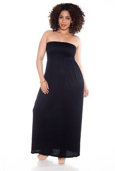 29 Best Plus Size Maxi Dresses images | Plus size outfits, Large ...