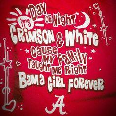 Alabama Crimson Tide baby! Roll Tide Roll!