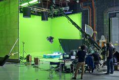 Greenscreen shoot, Fox Studios, Australia by josephpole, Joseph Pole VFX Film Studio, Studio Shoot, Light Cinema, Lighting Diagram, Fox Studios, Sound Stage, Studios Architecture, A Series Of Unfortunate Events, Film Aesthetic