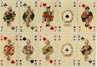 FREEBIES free images: ANTIQUE FRENCH PLAYING CARDS