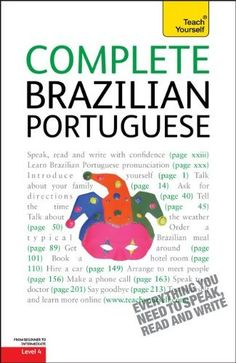 Complete Brazilian Portuguese: A Teach Yourself Guide (Teach Yourself Language)
