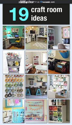 19 craft rooms that have it all figured out