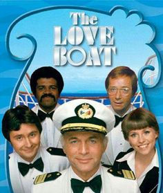 The Love Boat. Love, exciting and new. Come aboard. We're expecting you. Love, life's sweetest reward. Let it flow, it floats back to you.  The Love Boat soon will be making another run The Love Boat promises something for everyone Set a Course for adventure, Your mind on a new romance. It's LOOOOOOOOOOOOOOOVE!