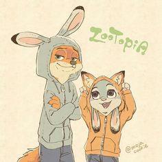 Zootopia ~ Nick Wilde ~ Judy Hopps