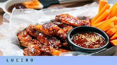 Cómo Hacer Alitas Con Salsa BBQ - Lucero Vílchez Cocina - YouTube Buffalo Wings, Buffalo Chicken, Chicken Wings, Crockpot, Mango, Make It Yourself, Youtube, Recipes, Food