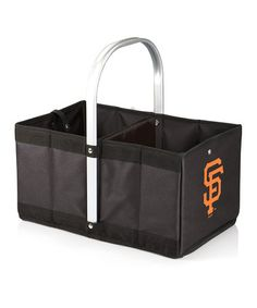 Take a look at this San Francisco Giants Collapsible Urban Basket by Picnic Time on #zulily today!