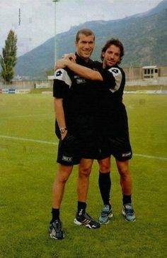 Zidane e Del Piero #LegendsOnly
