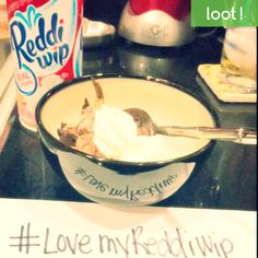 Use Loot App to take a photo of how you add ReddiWip to your dessert for a cash reward! http://lksn.se/loot #LootApp #Loot #ReddiWip #WhippedCream #Cash