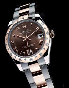 """The High End Rolex Diamond Watch. Men's Watch "" ""The High End Rolex Diamond Watch. Stylish Watches, Luxury Watches, Cool Watches, Rolex Watches, Watches For Men, Ladies Watches, Rolex Diamond Watch, Datejust Rolex, Rolex Oyster Perpetual Date"