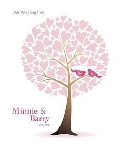wedding tree invite
