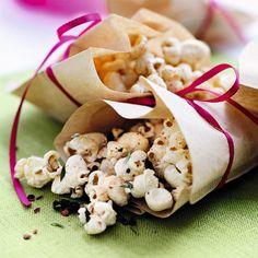 Kryddade popcorn