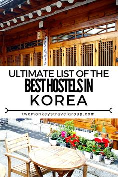 Ultimate List of The Best Hostels in Korea  In this article, you will find the…