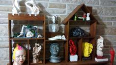 Esculturas realizadas en arcilla cocida