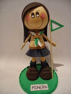 Scouts, Luigi, Fictional Characters, Boy Scouting, Art, Pastries, Manualidades, Boy Scouts, Fantasy Characters