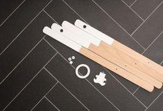 DIY portique d'éveil pour bébé en bois - wood baby gym - step3