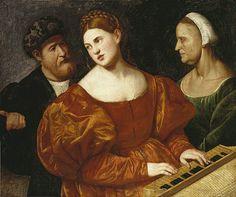A concert [1520-25]  BERNARDINO LICINIO (Venezia, 1485 – ante 1560)     #TuscanyAgriturismoGiratola