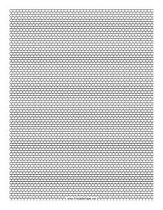 This Seed Bead Brick Pattern beadwork layout graph paper features seed beads in a single-row brick pattern. Free to download and print