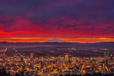 Sunrise over Portland, Ore. Clifford Paguio, Your Take