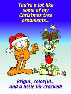 garfield ~ Gotta love the holiday! ~ ☮  レ o √ 乇 !!