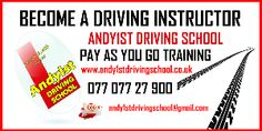 Andy1st driving instructor training