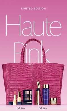 Think Pink: New Limited Edition Haute Pink Collection. Sent: April 8th, 2016