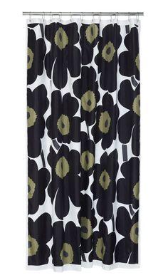 Unikko shower curtain Marimekko Shower Curtain 5a5f1c5694e37