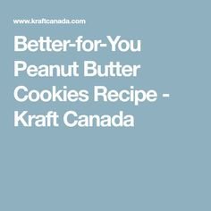 If you've tried our Super-Easy Peanut Butter Cookies, then you know about our cookie dough. We've made our favourite cookie recipe better-for-you using KRAFT Light Smooth Peanut Butter. Easy Peanut Butter Cookies, Peanut Butter Cookie Recipe, Cookie Recipes, 3 Ingredient Cookies, Favorite Cookie Recipe, Cookies Ingredients, What's Cooking, What To Cook, Cookie Dough