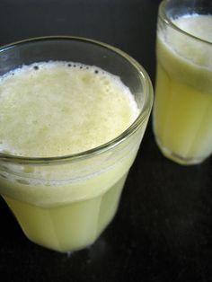 sparkling apple, pear & ginger juice recipe (http://juicers-best.com/blogs/juice-recipes/tagged/ginger-juice-recipe)