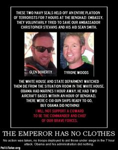 Benghazi Doherty, woods Obama did worse than nothing, he DENIED help be sent! Calling All Angels, My Champion, Thing 1, Real Hero, It Goes On, Navy Seals, God Bless America, Special Forces, Life Lessons