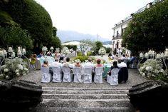 #93 #Lake Como #Italy #Wedding #Reception #Tables #Candles