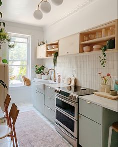 Cosy Kitchen, Stylish Kitchen, Kitchen Pantry, Home Decor Kitchen, Home Kitchens, Kitchen Dining, Kitchen Cabinets, Kitchen Ideas, Samsung