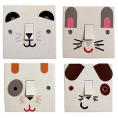 switches stickers for kids stickers interrupteurs pour enfants