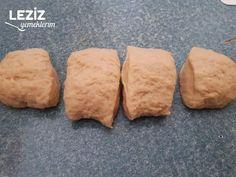 Kıyır Kıyır Midye Poğaça - Leziz Yemeklerim Bread Baking, Food And Drink, Baking