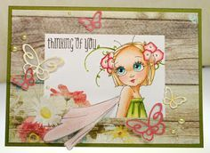 A Day For Daisies: ADFD Showcase Take Two ~ It's a Child's World & Challenge #142 - Add Dimensional Flowers...