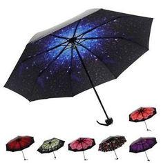 Motif-Interieur-Parapluie-Anti-Vent-Soleil-UV-Ombrelle-Dome-Manuel-Umbrella