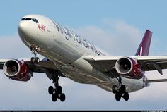 Virgin Atlantic Airways G-VLUV Airbus A330-343 aircraft picture