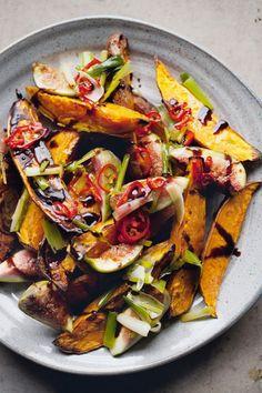 Sweet-potato-and-fig salad