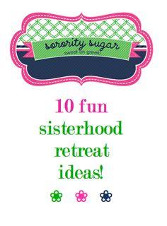 looking for some class or chapter retreat ideas for spring? <3 BLOG LINK:   http://sororitysugar.tumblr.com/post/17559577678/sisterhood-retreat-sugar @Nancy Velazquez