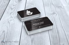 #businesscards for Frisson Threads from Phoenix, AZ  #moonlitmedia #graphicdesign #printdesign