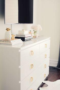 how to transform your ikea malm dresser