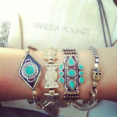 Vanessa Mooney has the best world-traveler jewelry